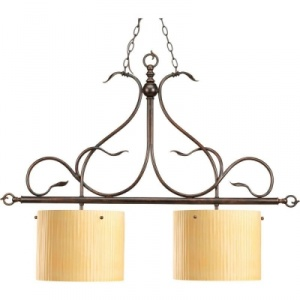 Thomasville Lighting Willow Creek Collection Weathered Auburn 2-light Chandelier
